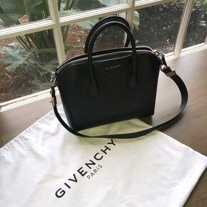 Givenchy Antigona Small Sugar Goatskin Bag
